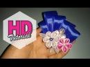 DIY    Cara Membuat Bros    HD Tutorial    Kanzashi flower   Satin Ribon