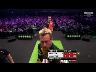 Simon Whitlock vs Benito van de Pas (PDC World Grand Prix 2017 / Quarter Final)