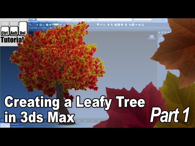 Creating a Leafy Tree in 3ds Max - Part 1