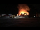 Пожар Княжье озеро