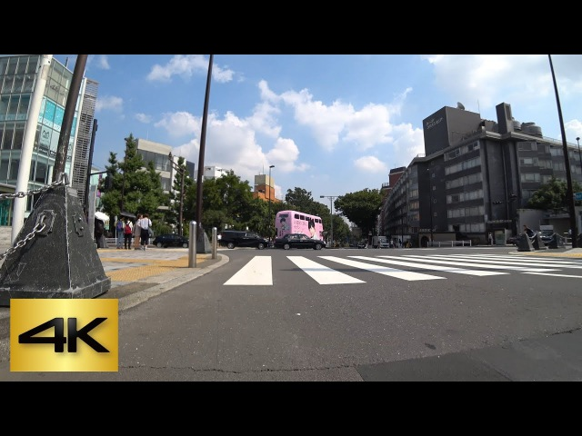 TOKYO KICK SCOOTER RIDE   ② Yoyogi-koen ⇒ Meiji-jingumae (Chiyoda Line) 代々木公園 ⇒ 明治神宮前 (千代田線) [4K]