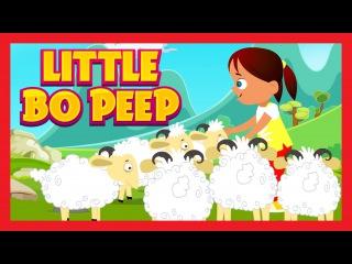 Little Bo Peep Has Lost Her Sheep - Nursery Rhyme | Musical | Kids Hut