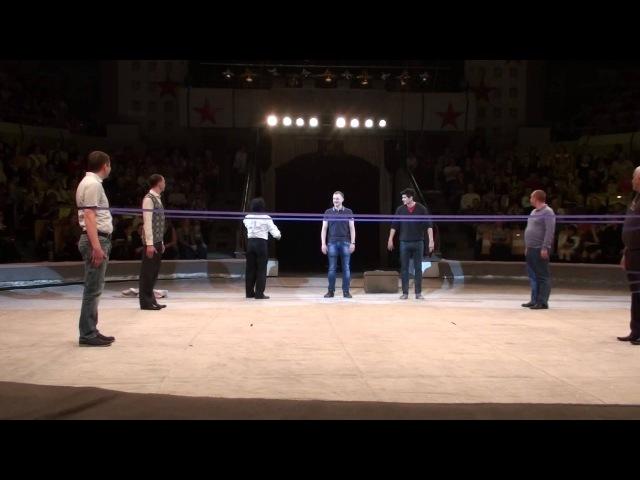 Клоун Сезар Аедо - реприза бокс