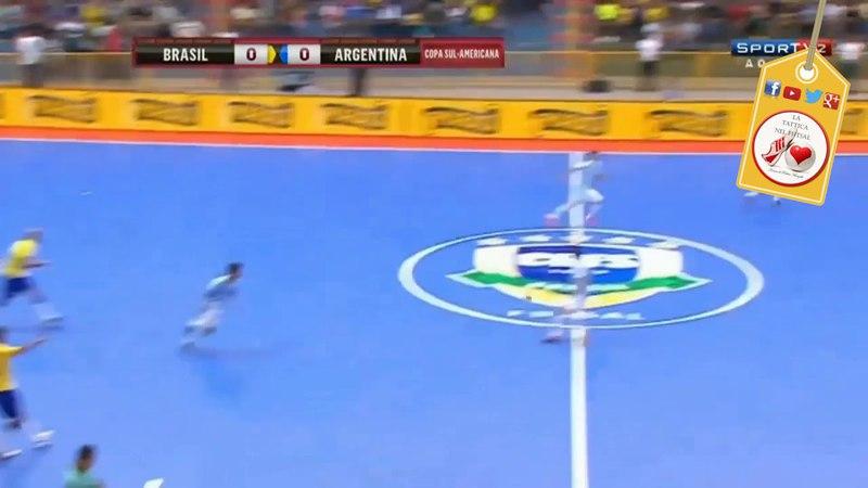 Tattica Futsal Calcio dinizio con diagonale a sorpresa ( rimessa laterale) 🇧🇷 🇵🇹