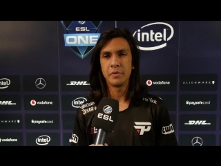 Interview with duster after beating liquid eslone @paingamingbr
