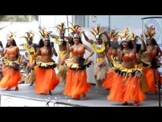 Tahitian Dance Lokelani's Rhythm of the Islands At Ho'olaule'a Lawndale 2013