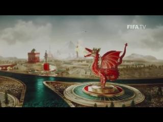 Официальная ТВ-заставка Чемпионата мира по футболу - 2018