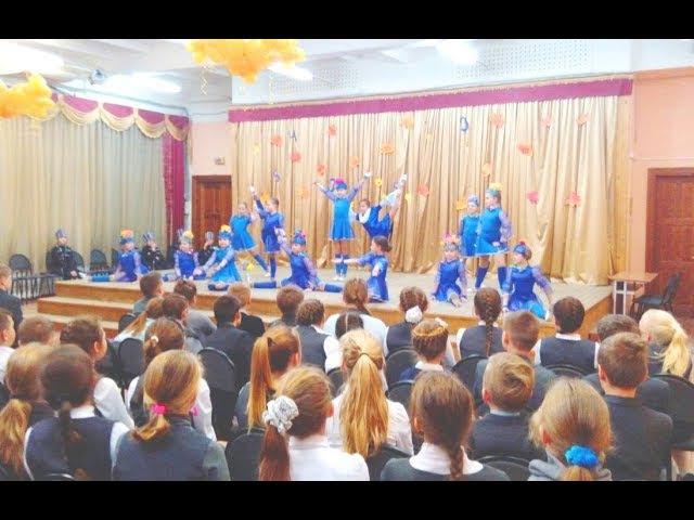 Самые яркие выступления в ГимназииОБЕРЕГАлексея и Александры БЕЛОВЫХ Танцы в школе Солн-горск Клин