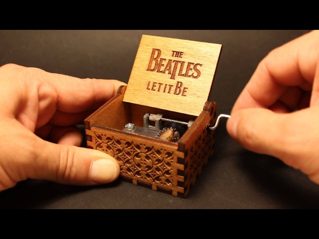 The Beatles Let It Be Music Box (Invenio Crafts)