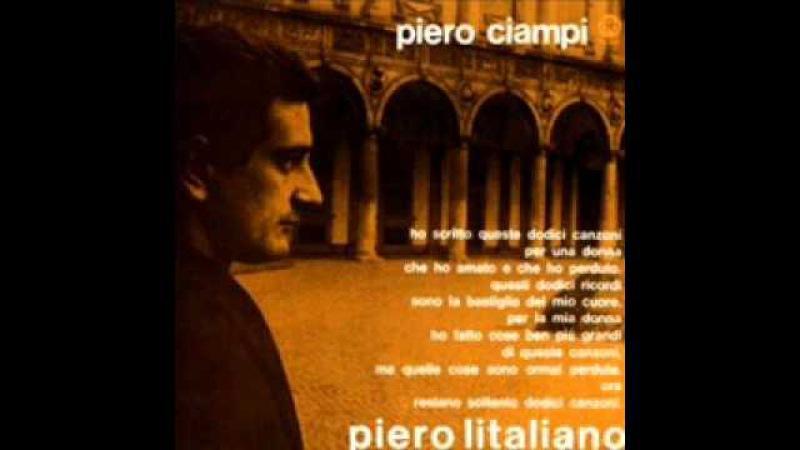 Piero Ciampi Fino all'ultimo minuto