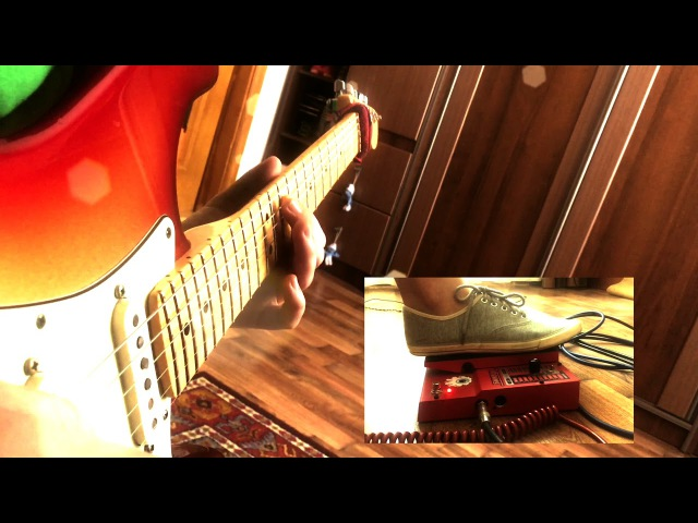 Audioslave Like a Stone Main guitar solo cover by Oleg Makarchuk