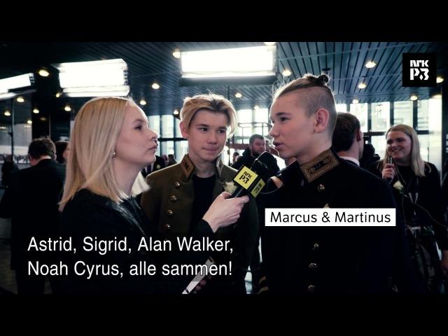 P3 Christine: Hvem skal Marcus og Martinius plystre på i kveld?