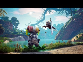 BIOMUTANT - New Gameplay, Weapons & Character Creation
