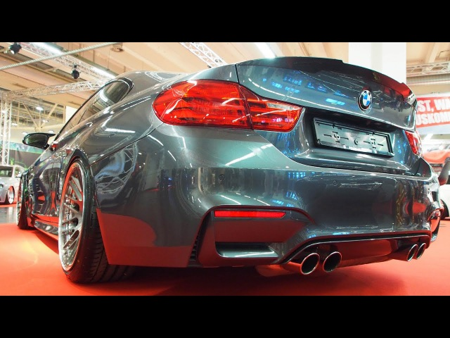 BMW M4 Coupe F82 2015 Tuning by BS Carstyling 3 0 M TwinPower Turbo 560PS Rotiform LVS Mono Look R19