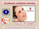 Facebook Customer Service 1 877 350 8878 A platform for protracting its excellence