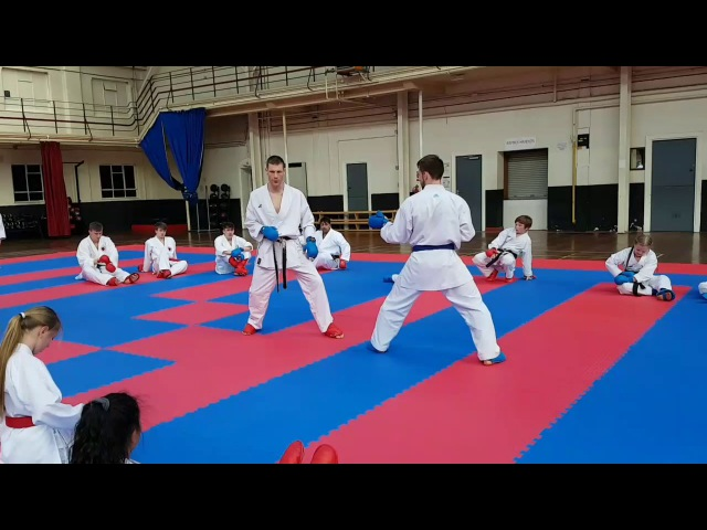 Junior Lefevre Sensei at CIKA England Seminar
