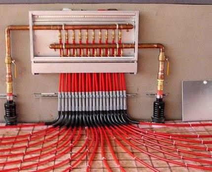 Монтаж водяного теплого пола из сшитого полиэтилена, изображение №3
