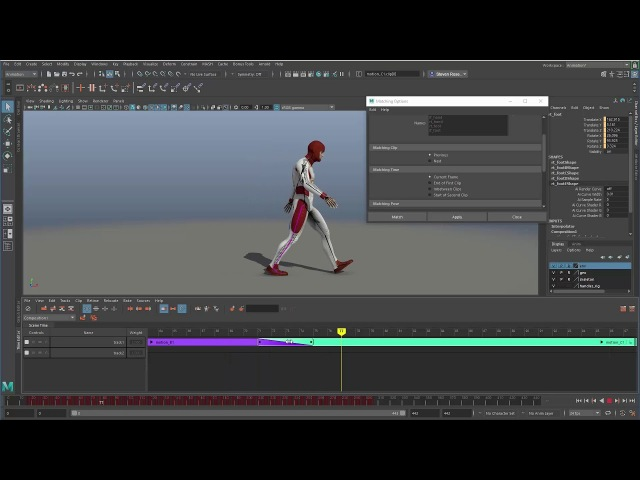Maya Time Editor Part 5 Blending and Retiming