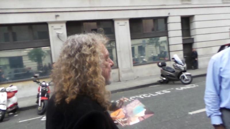 Robert Plant CBE in London 13 10 2017 (2)