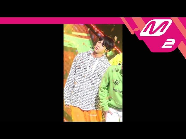 [MPD직캠] 방탄소년단 진 직캠 고민보다 GO(GO GO) (BTS JIN FanCam) | @MCOUNTDOWN_2017.9.28