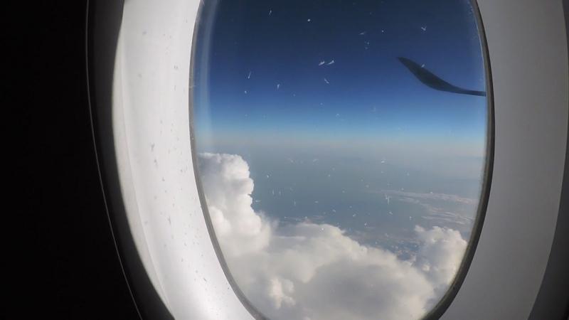 Полёт над Полинезийскими островами. Индийский океан. A350XWB