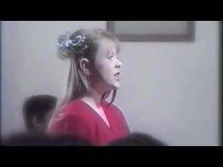 """Юлия Началова - клип на песню """"Учитель"""" (1992)"""