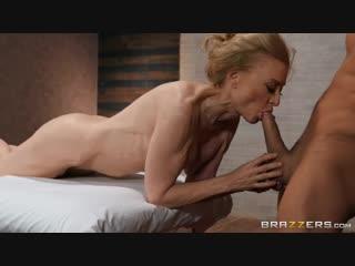 Nina Hartley - Milfy Massage [Brazzers. Big Tits, Massage, MILF]