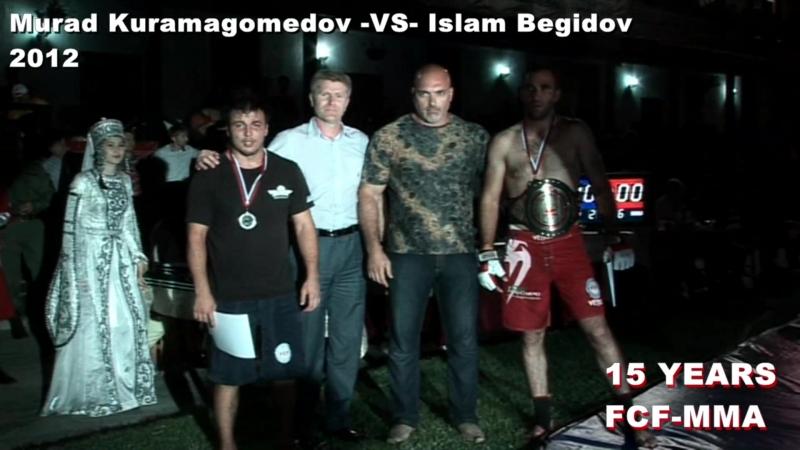 Murad Kuramagomedov VS Islam Begidov FCF MMA 2012