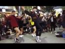 걷고싶은거리홍대블럭버거앞버스킹연합팀(디엠X레드크루)by큰별