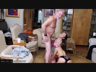 Sally squirt aka vanessa phoenix & gigi flamez [ young / cunnilingus , old with young , riding dick , cumshot on ass]