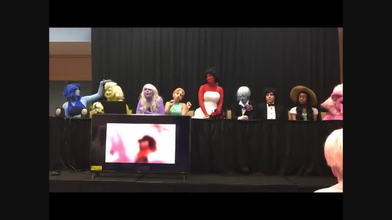 Steven Universe Sing-a-long and Q_u0026A Metrocon 2018 For the Love of Clod