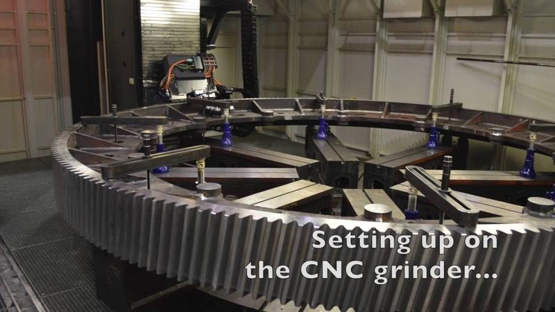 Manufacturing a Girth Gear