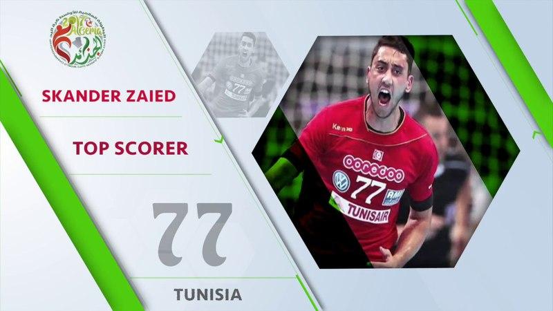 Skander Zaied (TUN) - Top scorer   IHFtv - Algeria 2017 Mens Junior WCh