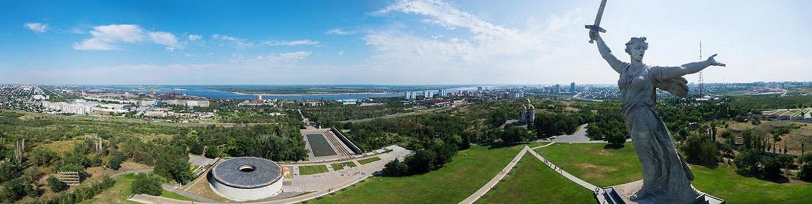 Панорамное фото волгограда в хорошем качестве