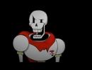 V скелеты Санс и Папирус mp4