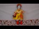 Попурри русских народных песен. Музыкальный анимированный видеоклип.