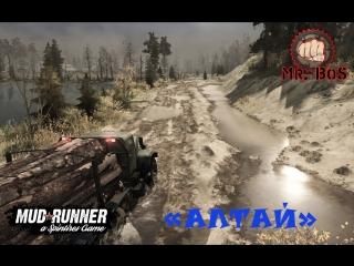 Обзор: Новая Карта «Алтай» Spintires: MudRunner