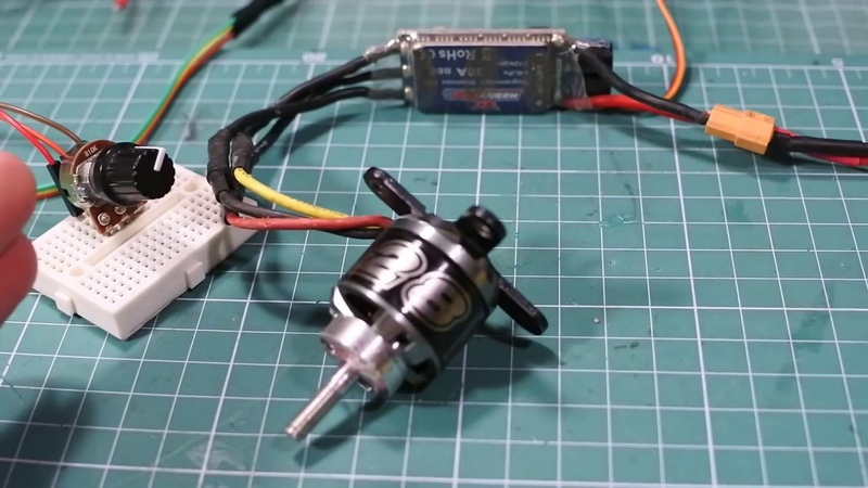 Уроки Arduino управление бесколлекторным мотором