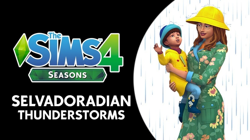 The Sims 4 Seasons: Thunderstorms in Jungle Adventure's Selvadorada!