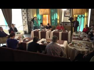Пресс-завтрак с заместителем Губернатора Евгением Богомазовым