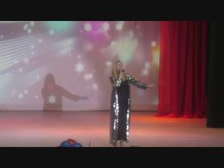 Выступление Катерина Горбачева. Шатки 23 февраля