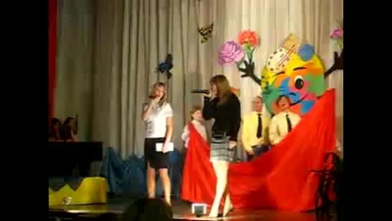 Группа КИС ки Даша Карипанова и Наташка Сорокина