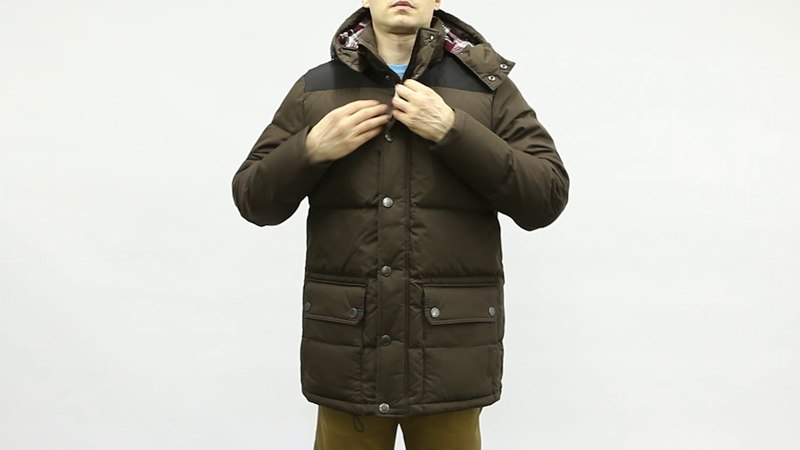 Куртка-парка на пуху Fred Perry J1285 Down Arctic Jacket