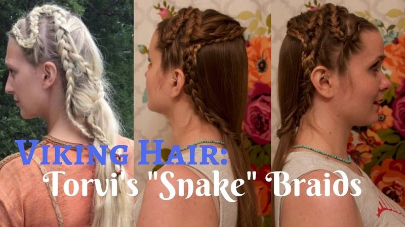 Viking Hair Torvis Snake Braids