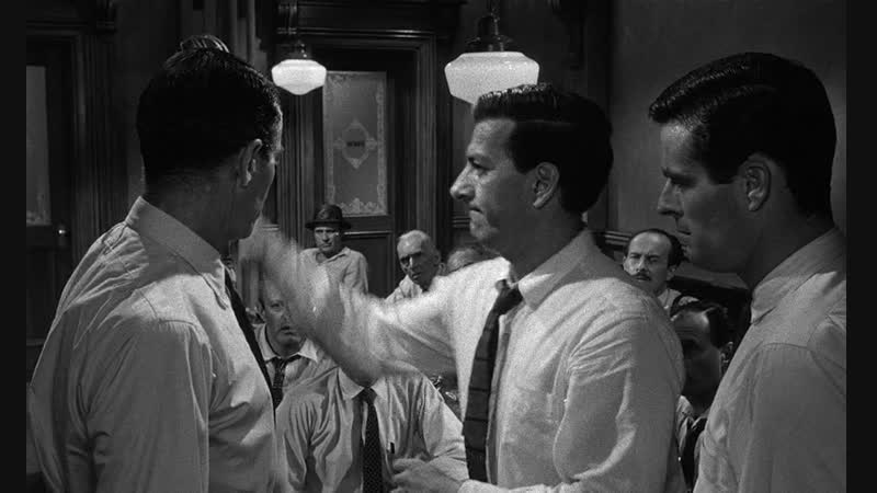"""12 разгневанных мужчин"" 1956 драма Сидни Люмет"
