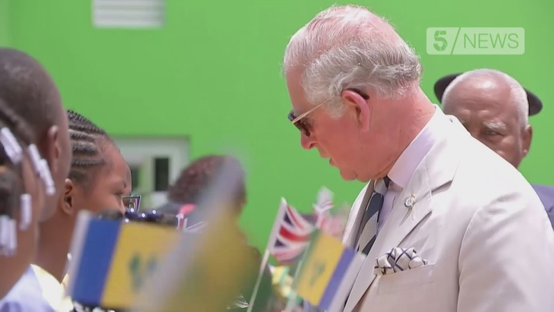 Prince Charles and Camilla visit St Vincent and the Grenadines