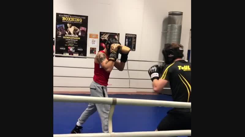 Макван Амирхани : Идя вперёд с моим боксом.