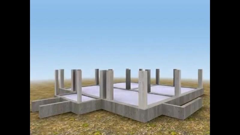 Сухой сособ строительства домов