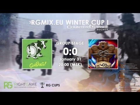 RGMIX.eu Winter Cup 1 [COWABUNGA vs ṕǥ^400kĝ] Group A