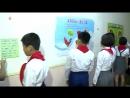 학교가 자랑하는 모범소년단원들 -서성구역 상신초급중학교-